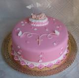 Торт на крестины