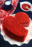 Красное сердце Торты на заказ