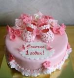 Торт на рождение малыша Торты на заказ