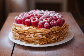 Блинный торт, Пироги и куличи
