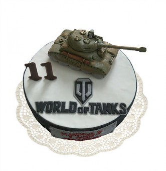 World of Tanks‎, Торты на заказ