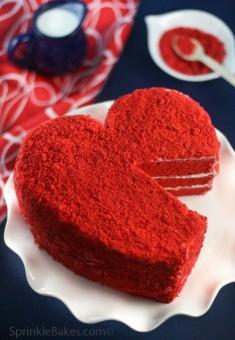 Красное сердце, Торты на заказ