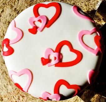 Торт на день влюбленных, Торты на заказ