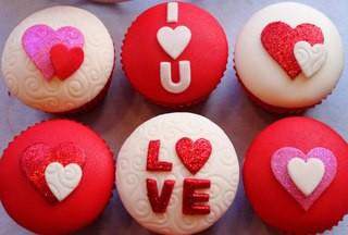 День Святого Валентина, Капкейки