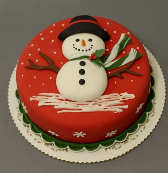 Новогодний торт, Торты на заказ