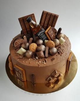Торт JACK DANIELS, Торты на заказ