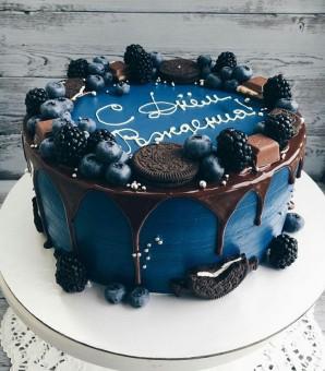Черничный торт, Торты на заказ