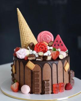 Шоколадный восторг, Торты на заказ