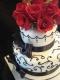 Красные розы Торты на заказ