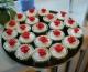 Красные розы Капкейки