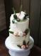 Торт с живыми цветами Торты на заказ