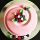 Мусовый торт розовый велюр Торты на заказ