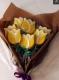 Букет из желтых тюльпанов Пряники и печенье