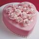 Розовый торт Торты на заказ